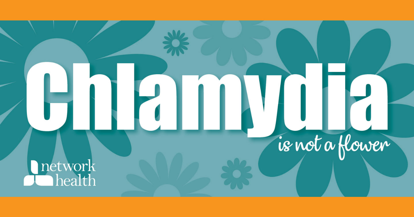 chlamydia it's not a flower image with flower graphics