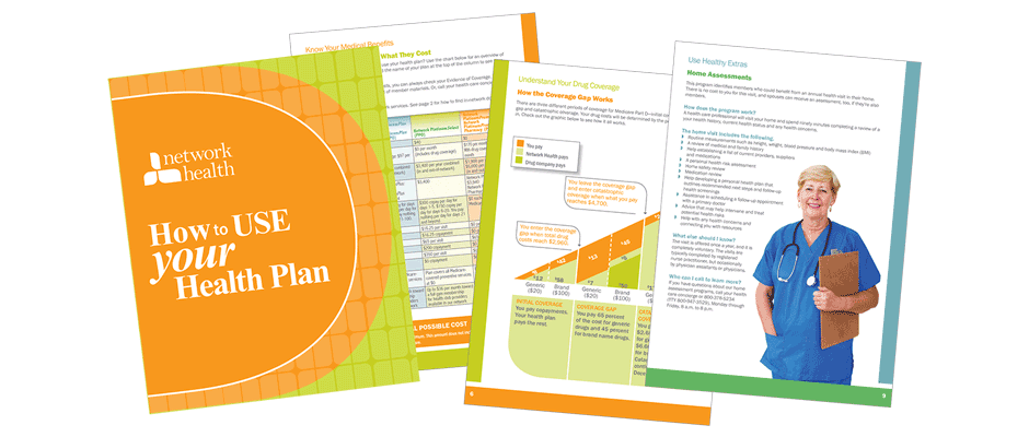 How to use your health plan brochures